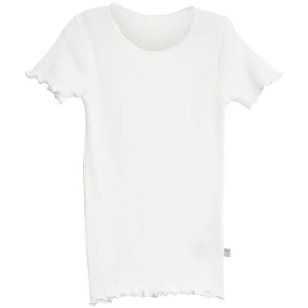 Wheat - Råhvid Rib T-Shirt
