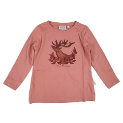 Wheat - T-Shirt Deer Soft Rouge