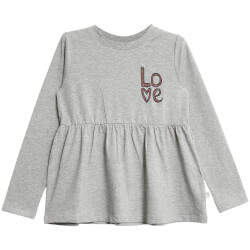 Wheat - Bluse Love Grey