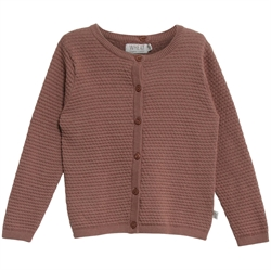Wheat - Cardigan Manuela Powder Plum