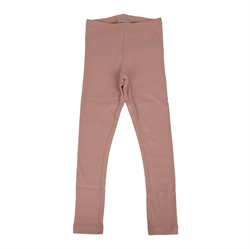 Wheat - Rib Leggings Rose Powder