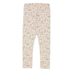 Wheat - Jersey Leggings Flowers And Seashells