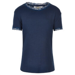 Vildt fin ribstrikket T-shirt fra The New - Bailey