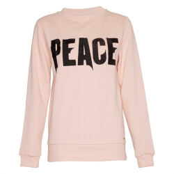 Rosa bomulds sweatshirt fra Costbart - Angelina Sweatshirt, 13619-409