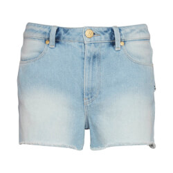 Korte denim shorts med rå elementer fra Costbart - Sandie Jeans, 13778-805