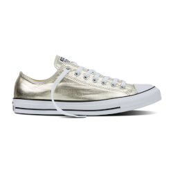 All Star Low i guld fra Converse 153181