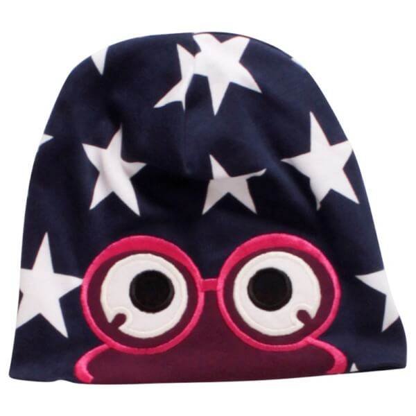 Star peep hue fra Freds World i magenta/navy