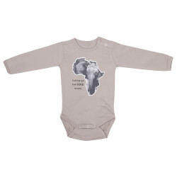 Bodystocking i Beige med Elefant fra Kids Up