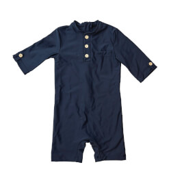 By Lindgren - Anker Beach UV Heldragt Deep Navy