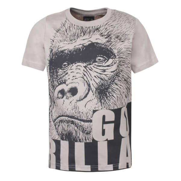 Kids Up - Klein T-shirt Gorilla Beige