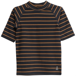 Wheat - Solfaktor T-Shirt Jackie Midnight Blue Stribe