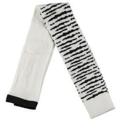 Smarte off white leggings fra Molo med sorte tiger striber