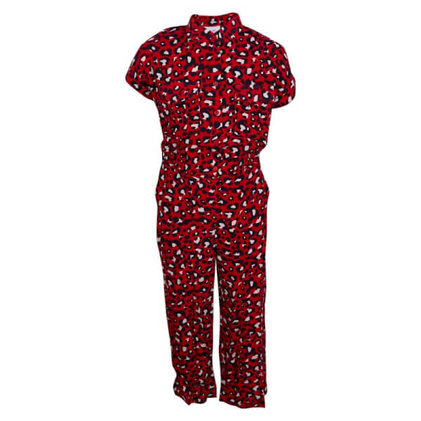 Image of Grunt Pige - Sigrid Culotte Suit Happy Red