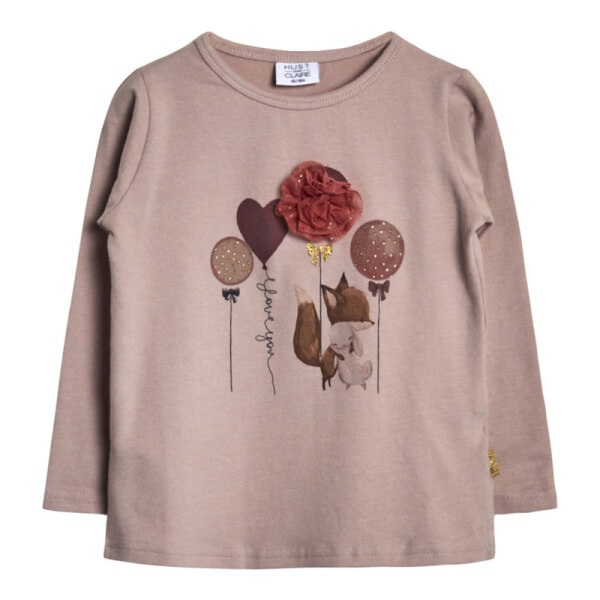Hust & Claire - Alma T-shirt Shade Rose