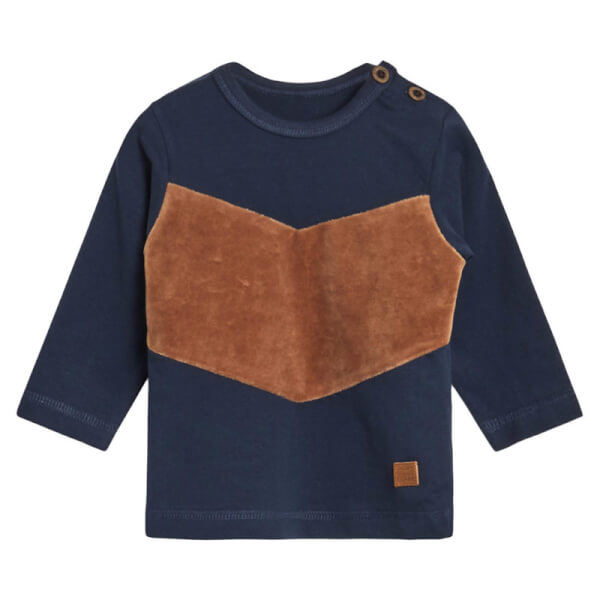 Image of Hust & Claire - Augustin T-shirt Navy