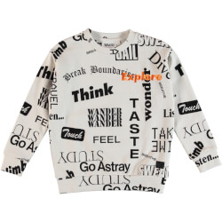 Molo - Madsim Sweatshirt Words