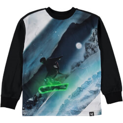 Molo - Risci T-shirt Night Snowboarding