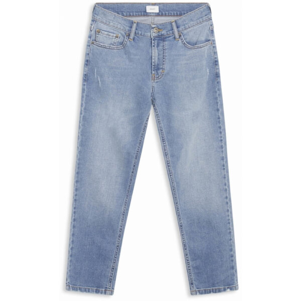 Image of Grunt - Clint Worn Blue Jeans