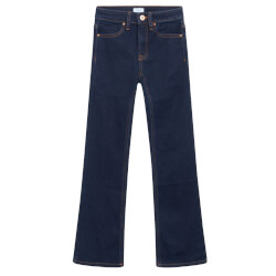 Grunt Pige - Flare Jeans Raw Blue