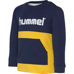 Hummel - Mario T-shirt Navy/Yellow