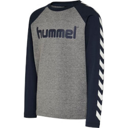 Hummel - Boys Bluse Grey