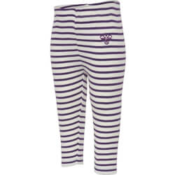 Hummel - Balto Tights Purple Stripes