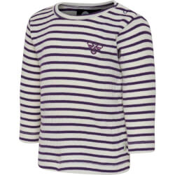 Hummel - Rumle T-shirt Purple Stripes