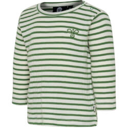 Hummel - Rumle T-shirt Green Stripes