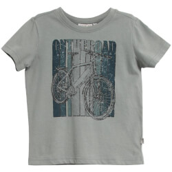 Wheat - Blå On The Road T-shirt
