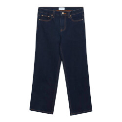 Grunt Pige - Denim Jeans Wide Raw Blue