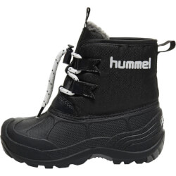 Hummel - Vinterstøvler Icicle Low Jr Sort