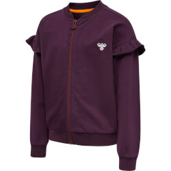 Hummel - Aiko Zip Jakke Blackberry Wine
