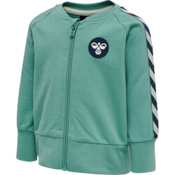 Hummel - Patos Zip Jakke Oil Blue