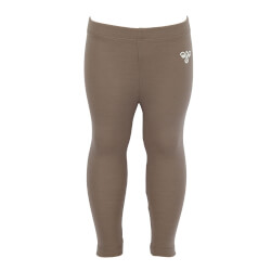 Hummel - Wolly Uld Tights Pine Brown