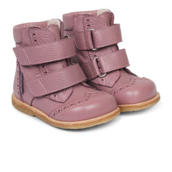 Angulus - Tex Støvler m/Velcro Light Plum