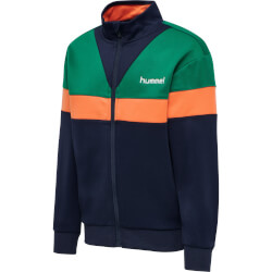 Hummel - Kentaro Zip Jakke Ultramarine Green