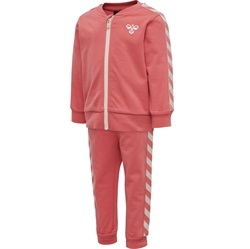 Hummel - Bille Joggingsæt Faded Rose