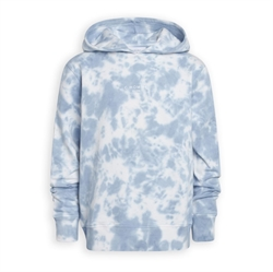 Grunt Dreng - Bas Batic Sweat Hoodie Blue