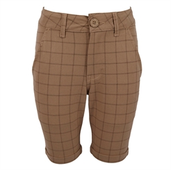 Hound Dreng - Chino Shorts Checked Sand