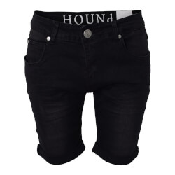 Hound Dreng - Straight Shorts Black Denim