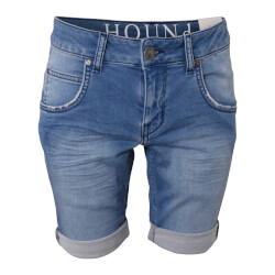 Hound Dreng - Pipe Jog Shorts Light Used Denim