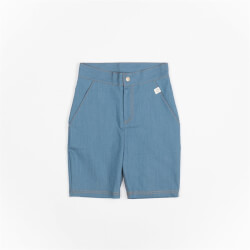 Shorts i denim-lignende kvalitet fra Atracktion - Morten 2262-REAL-TEAL