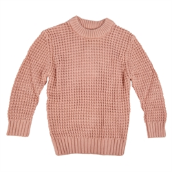 Wheat - Strik Pullover Charlie Misty Rose