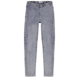Molo - April Bukser Ash Denim