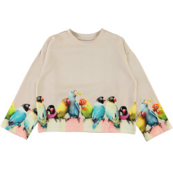 Molo - Mikko Love Birds Big Bluse