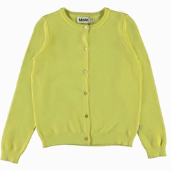 Molo - Georgina Pale Lemon Cardigan
