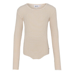 Molo - Rochelle White Yellow Stripe Bluse