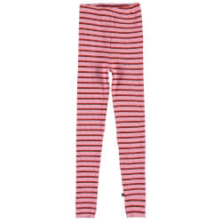 Molo - Nikita Pink Red Stripe Leggings