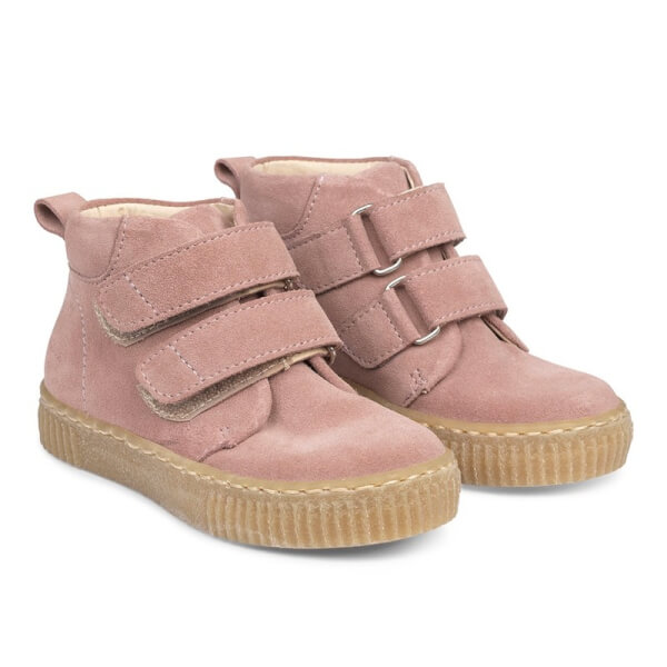 Image of Angulus - Rosa Sneakers m. Velcrolukning