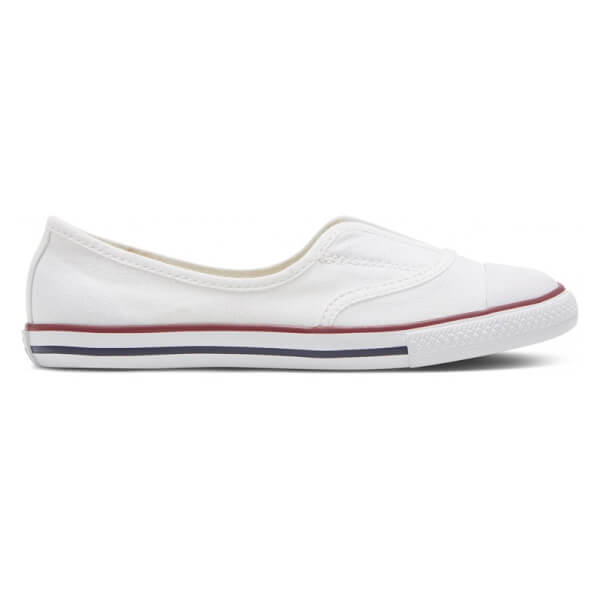 Smarte Converse All Star Kids slipon i hvid